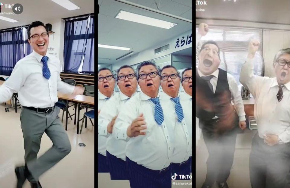 おじさんがオフィスで踊りまくり! タクシー会社のTikTokが話題→なぜ始めた?出演社員に聞いた(全文表示) - コラム - Jタウンネット 東京都