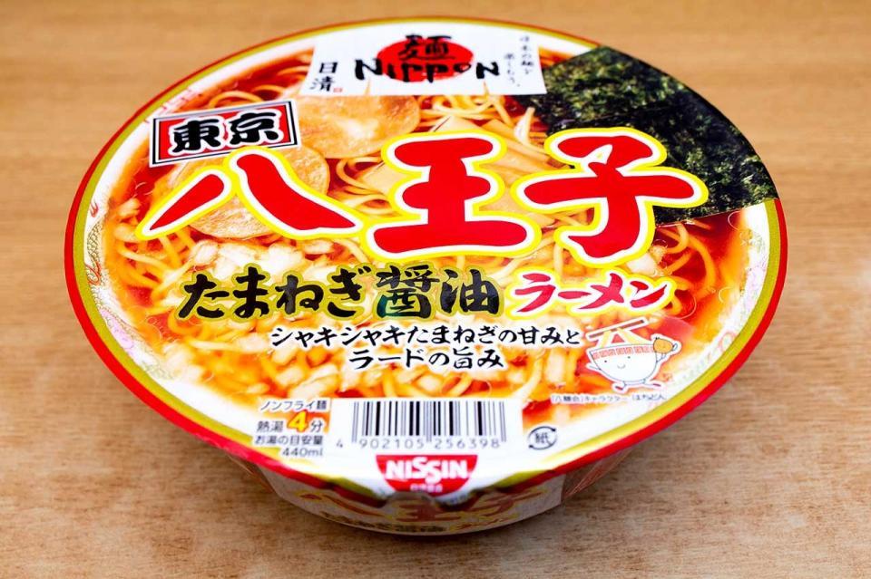 日清食品「日清麺NIPPON 八王子たまねぎ醤油ラーメン」