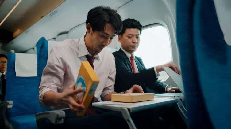 テレビCM「Don't Stop JAPAN」のワンシーン(東海道新幹線「N700S」公式YouTubeより)