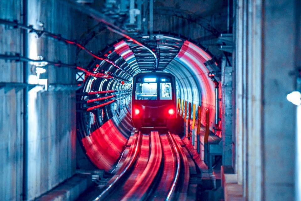 仙台市地下鉄、仙台駅ホームからの光景(YUITOさん撮影)