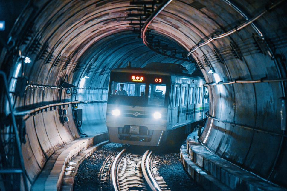 地下鉄南北線広瀬通駅ホームからの光景(YUITOさん撮影)
