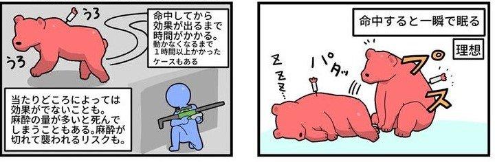 一瞬で眠るわけではない(画像はねんまつたろう@KITASAN1231さんより提供)
