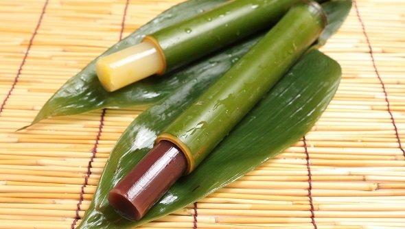 竹筒羊羹(画像提供:亀屋良長)