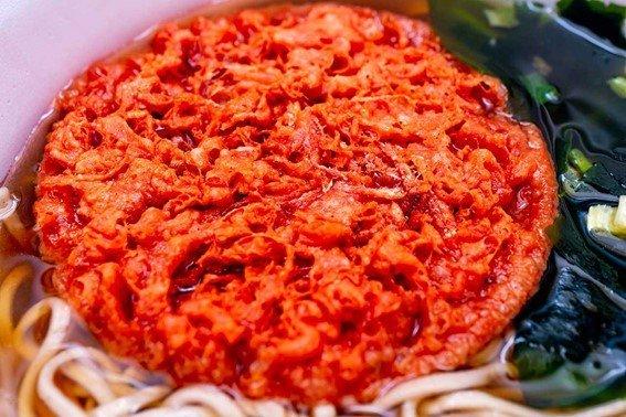 特大の紅生姜天ぷら