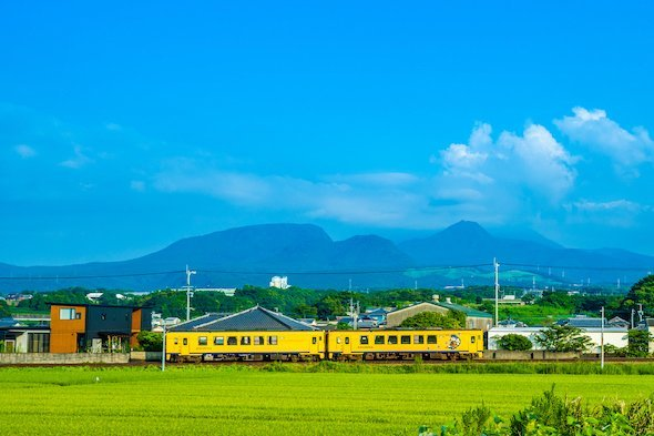 島原鉄道 幸せの黄色い列車