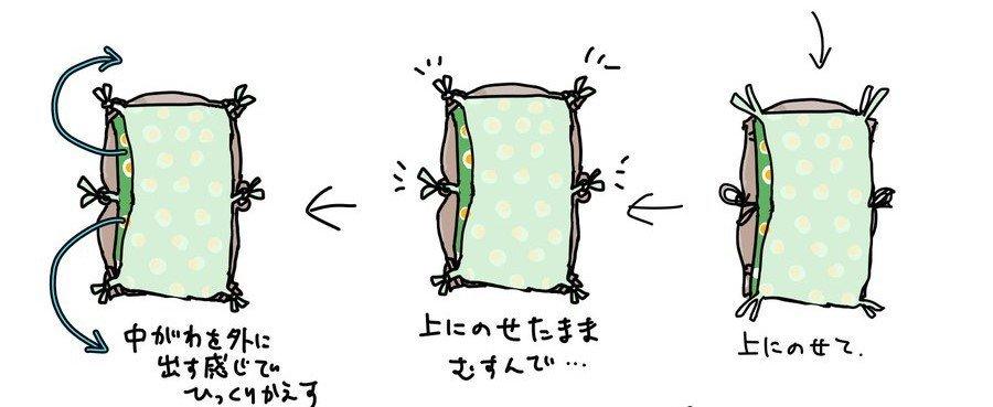 そのまま上に(画像はたぬ£ポンド@tan_uk_ijiruさん提供)