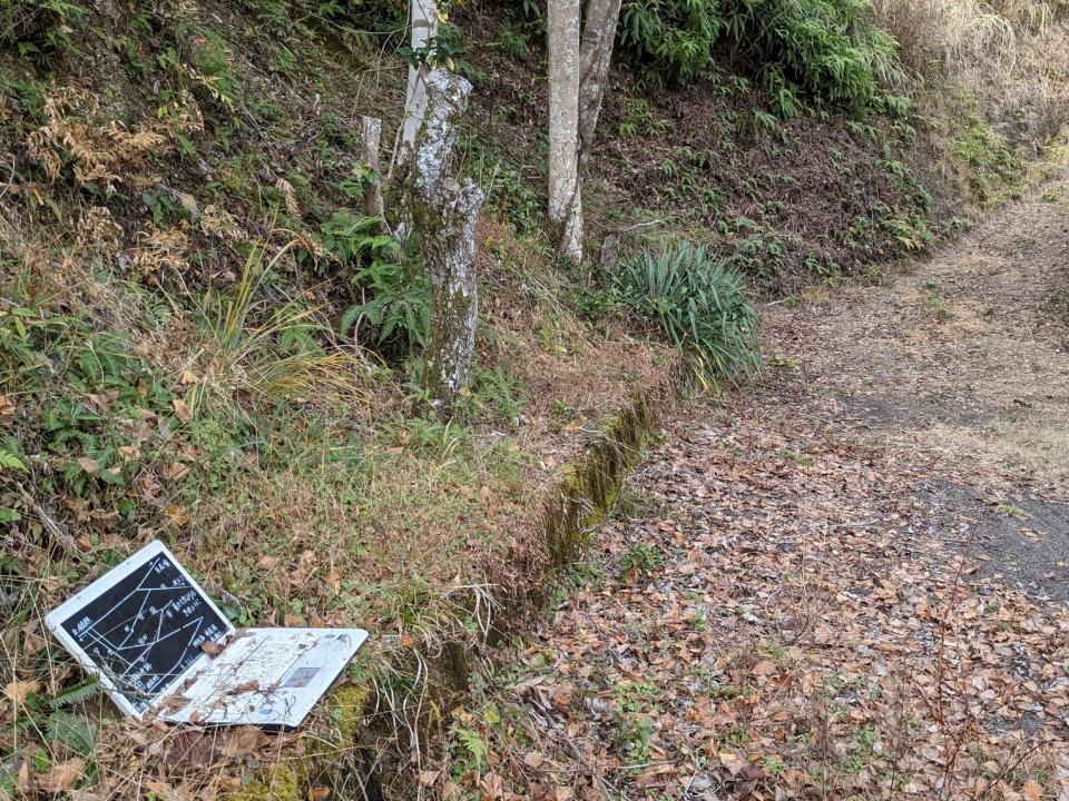 道にパソコン...?(画像は「かけうどん(小)」@hiyakakeudonmanさん提供、編集部で一部トリミング)
