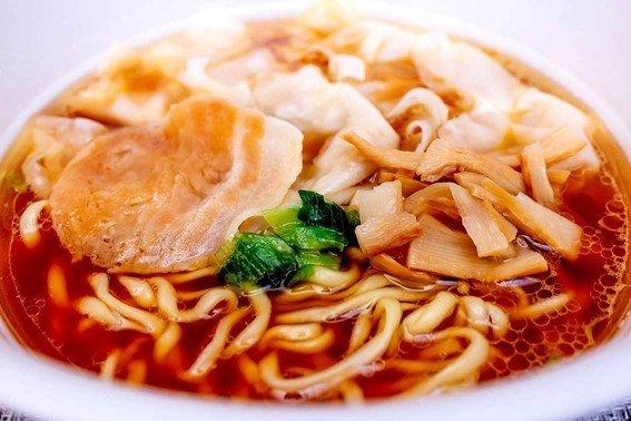 「とら食堂 ワンタン麺」完成!
