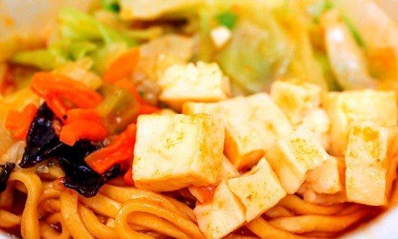 「辛旨味噌」は豆腐などさらにボリュームがある