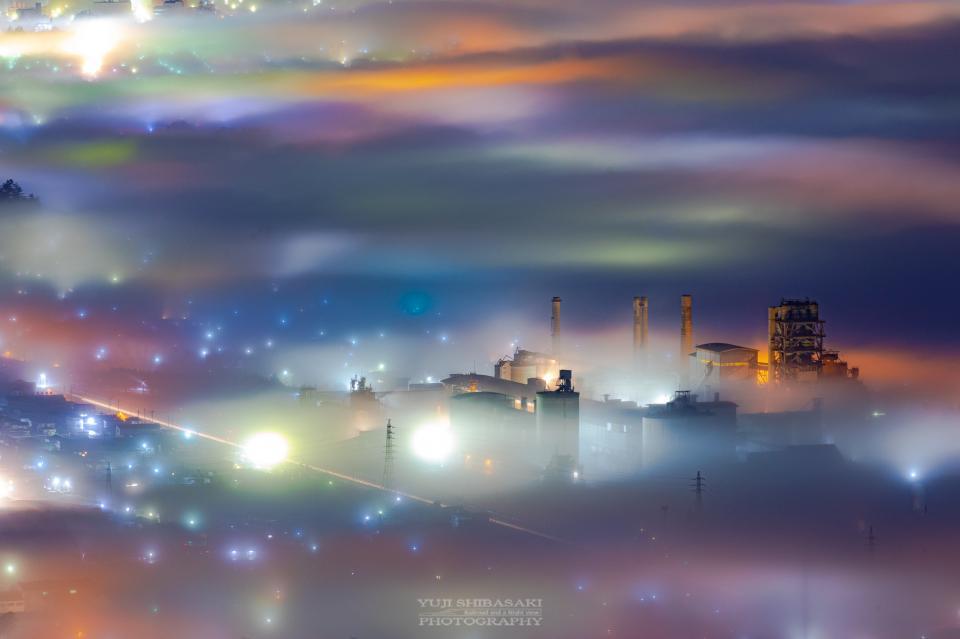 美の山公園展望台から、20年1月にYuji Shibasakiさんが撮影