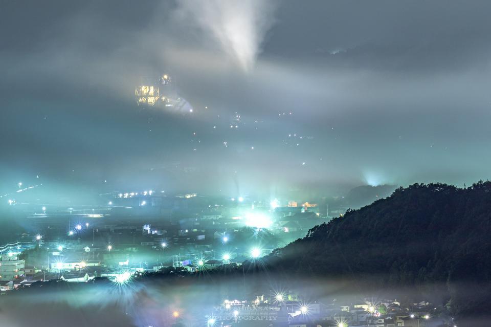 美の山中腹付近から、20年9月に撮影